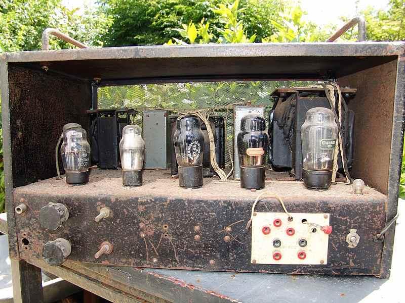Vintage valve Amplifiers Leak 12.1 Beam Echo DL7-35